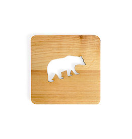 Nordic Dreams Bear Coaster Set/4