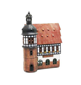 Nordic Dreams Musikschule Ceramic Candle House