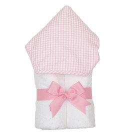 Three Marthas Everykid towel Pink Check