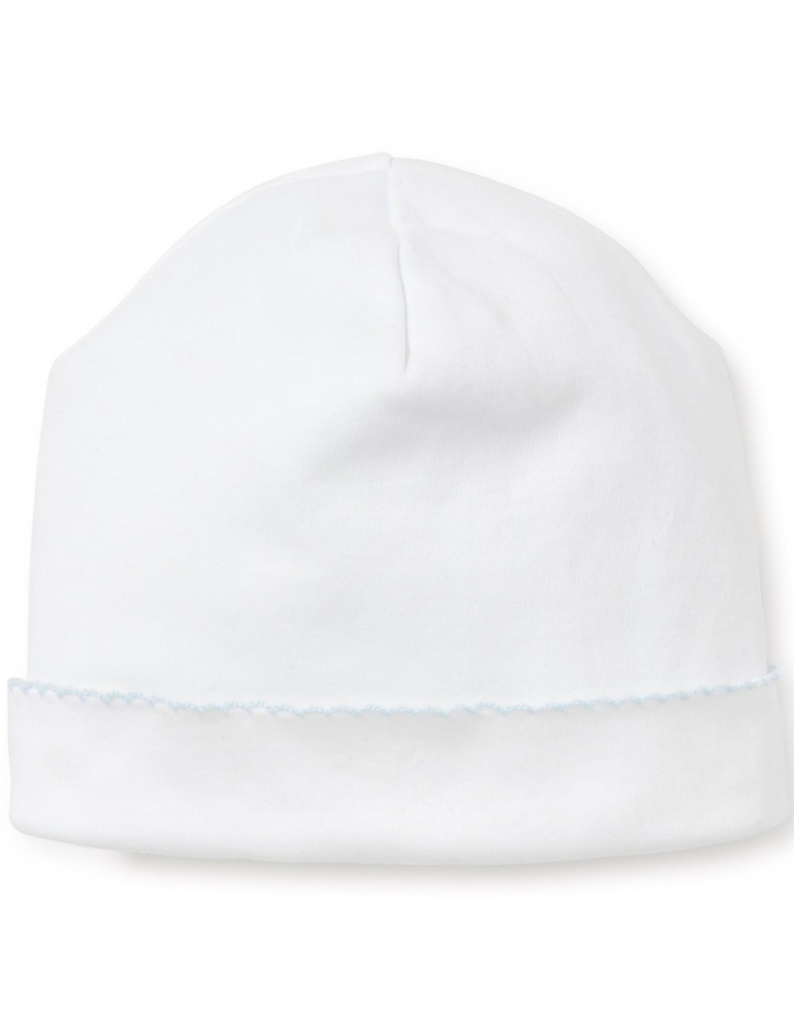 Kissy Kissy Basic Hat White/Blue Stitching