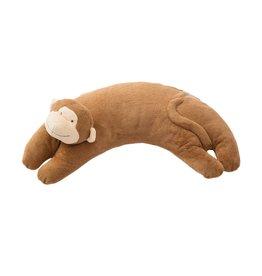Angel Dear Curved Pillow Monkey