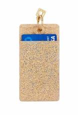 O Ventures Silicone ID Case Gold Rush Confetti