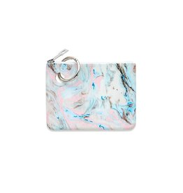 O Ventures Mini Silicone Pouch Pastel Marble