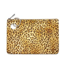 O Ventures Large Silicone Pouch Cheetah