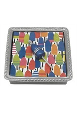 Mariposa Cobalt Buoy Rope Napkin Box