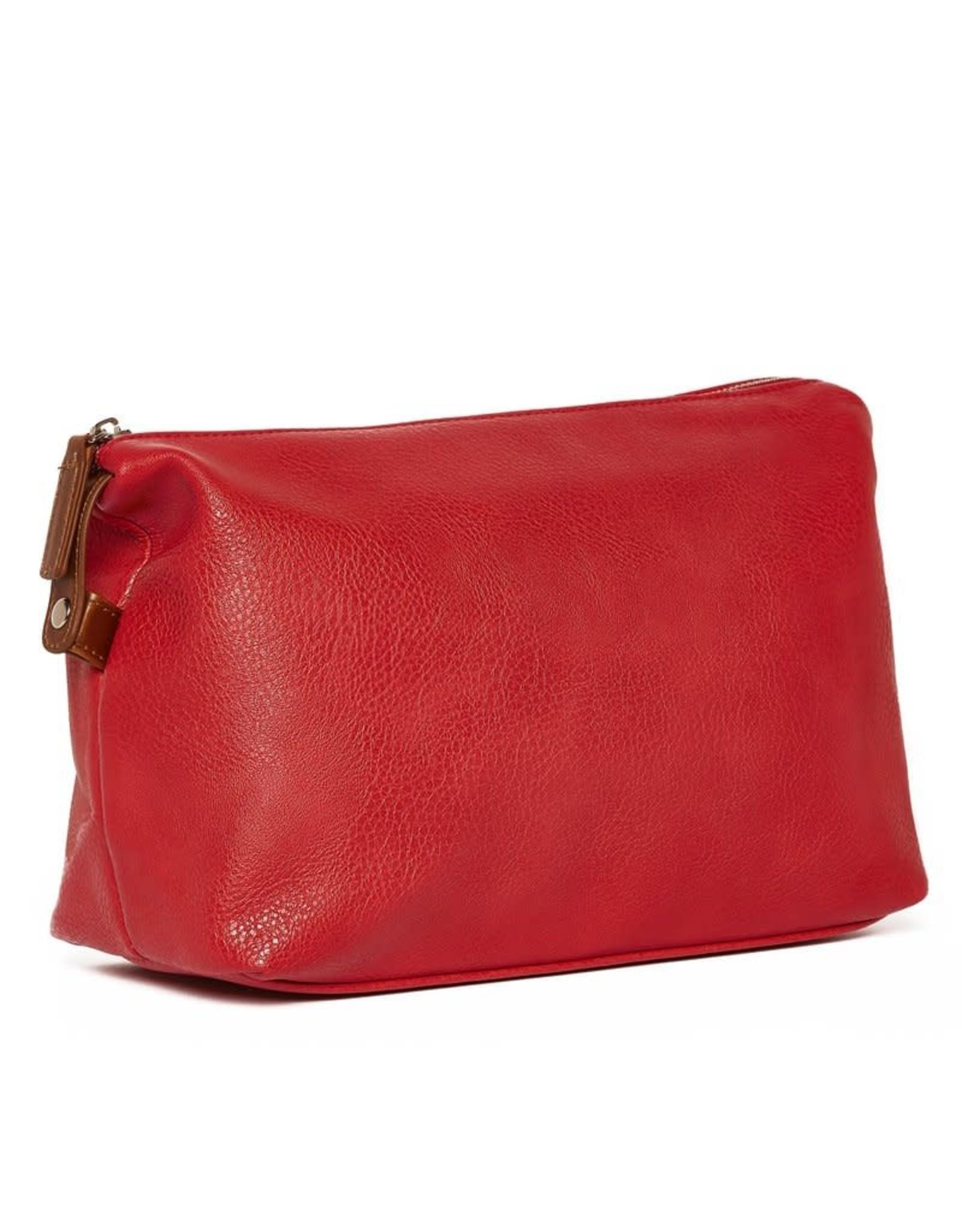 Brouk & Co Croft Dopp Kit Red