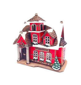 Nordic Dreams Standesamt Ceramic candle house