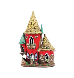 Nordic Dreams Red Cottage Candle House