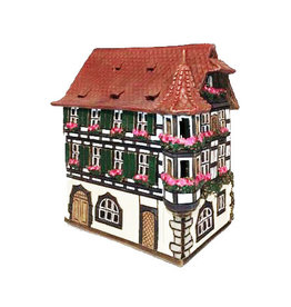Nordic Dreams Green 2-Storey Candle House