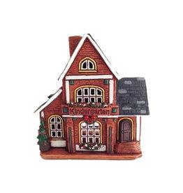 Kindergarten Ceramic Candle House