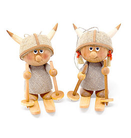 Nordic Dreams Viking Girl Skis