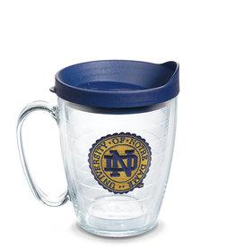 Tervis Tumbler Mug/lid Notre Dame Seal