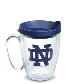 Tervis Tumbler Mug/lid Notre Dame Interlocking