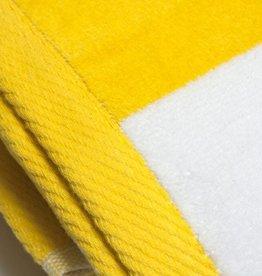 Beach Towel Yellow Stripe