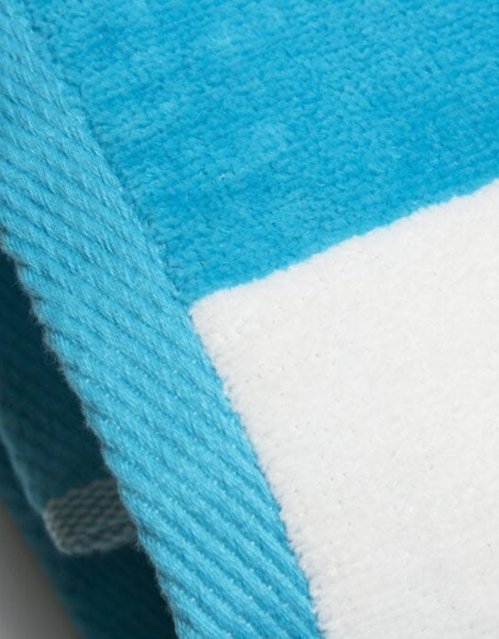 Beach Towel Aqua Stripe