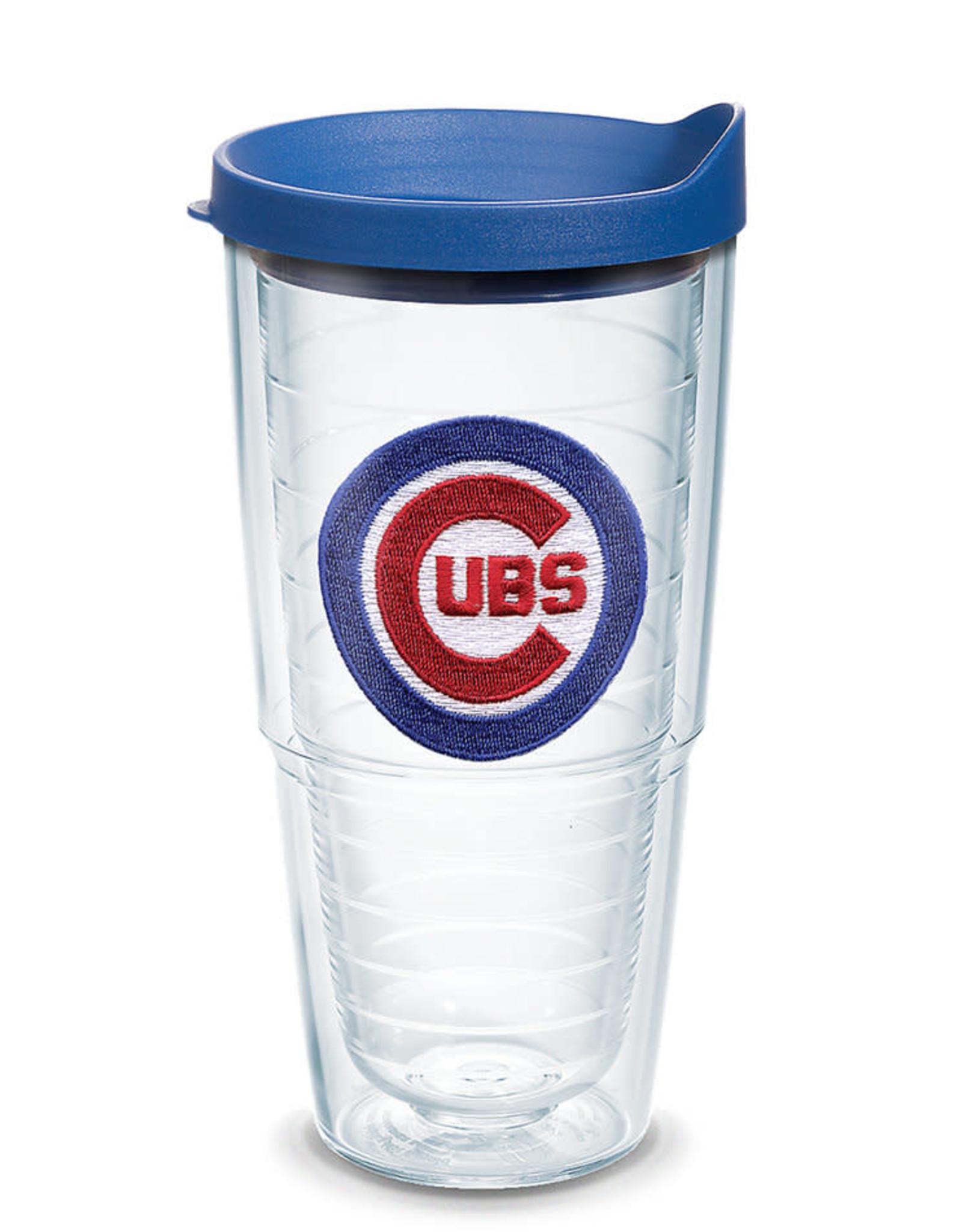 Tervis Tumbler 24oz w/lid Chicago Cubs Logo Blue Lid