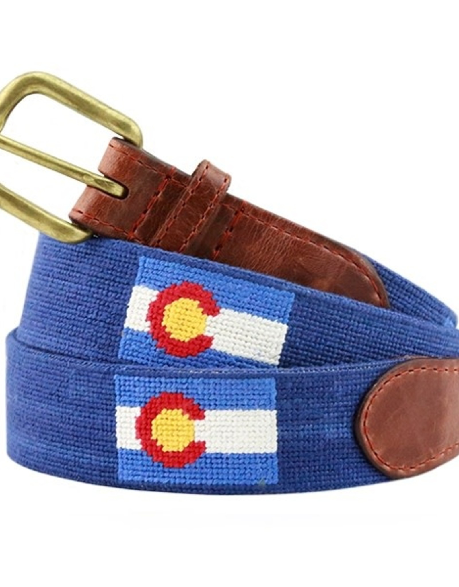 Smather's & Branson Belt Colorado State Flag