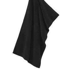 Port Authority Black Microfiber Golf Towel