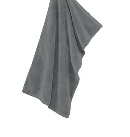 Port Authority Deep Smoke Microfiber Golf Towel