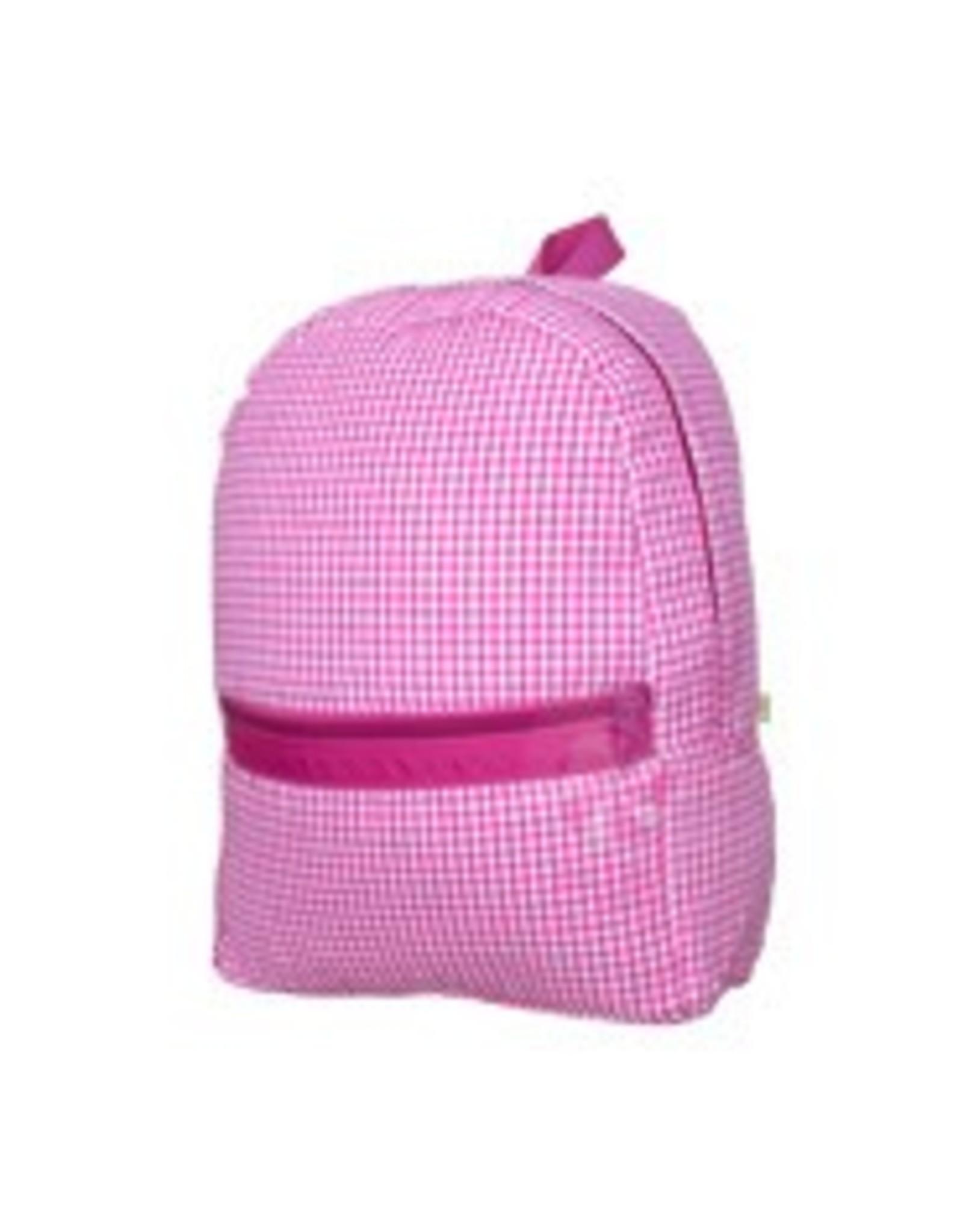 Oh Mint Medium Backpack Hot Pink Gingham