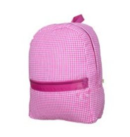 Oh Mint Medium Backpack Hot Pink Gingham