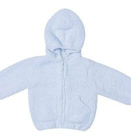 Angel Dear Chenille Hoodie Light Blue
