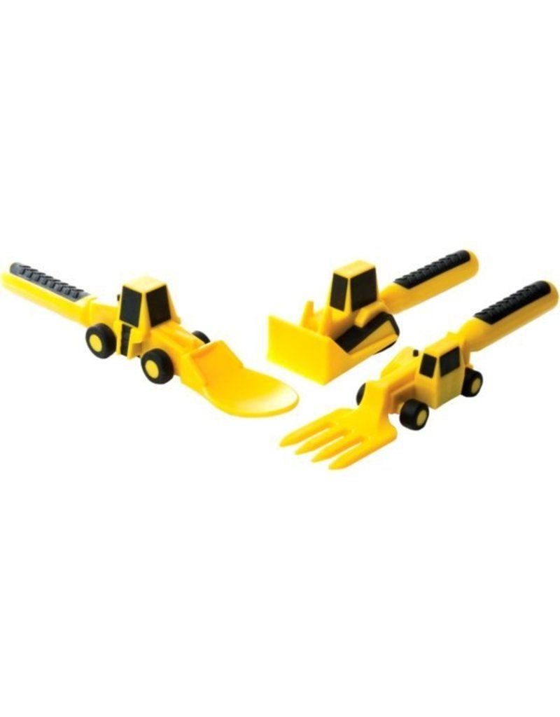 Constructive Eating Construction Utensil Set