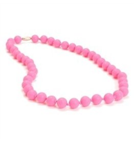Chewbeads Jane Necklace Punchy Pink