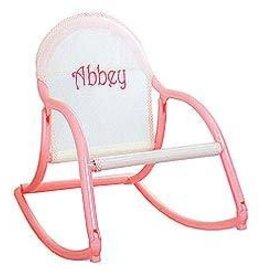Hoohobbers Hoohobber Pastel Mesh Rocking Chair