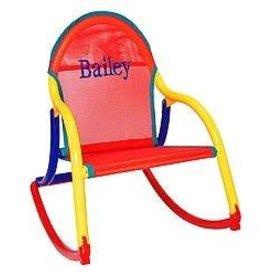 Hoohobbers Hoohobber Rocking Chair Red Mesh Primary