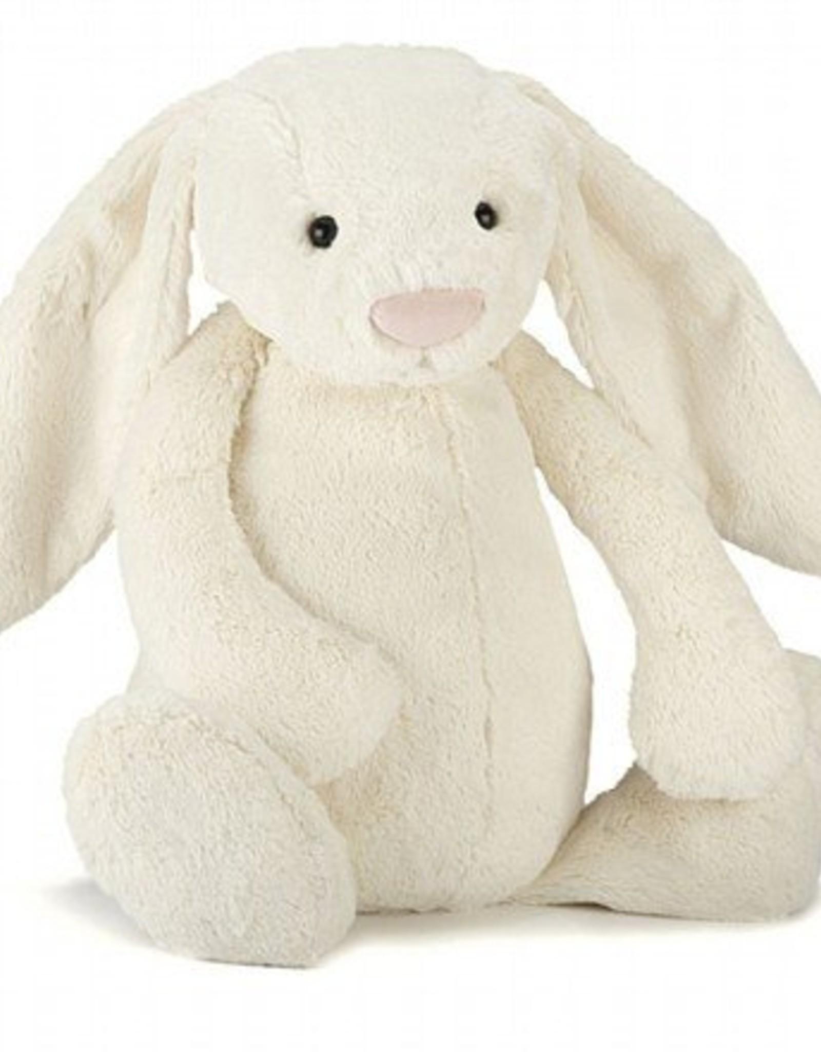 "Jelly Cat Bunny Cream Small 7"""