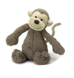 Jelly Cat Bashful Monkey Medium 12""