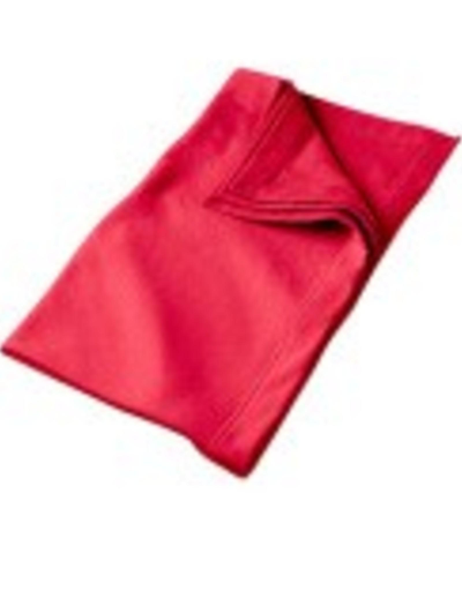 Sweat Fleece Blanket Red