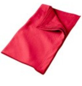 Sweat Fleece Blanket Red