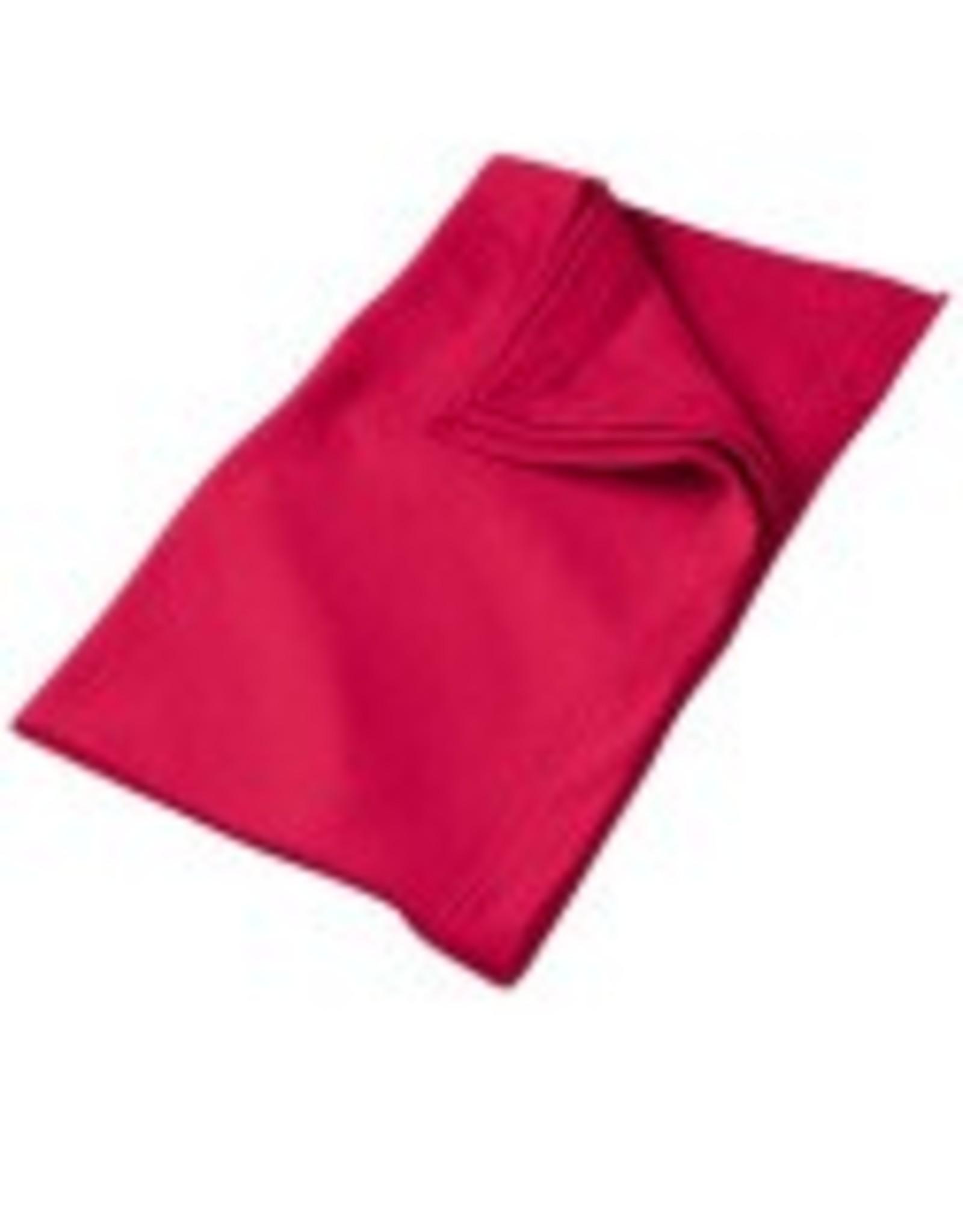 Gildan Sweat Fleece Blanket Cardinal red