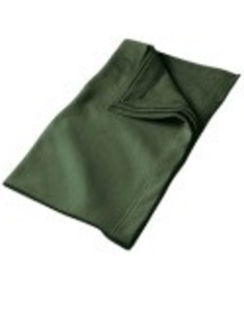 Sweat Fleece Blanket Dark Green