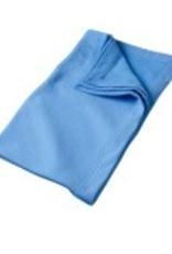 Sweat Fleece Blanket Royal Blue