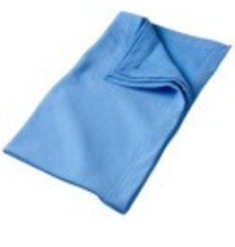 Sweat Fleece Blanket Carolina Blue
