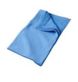 Sweat Fleece Blanket Carolina Blue
