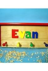 Cubbyhole Toys Shelf Coat Rack