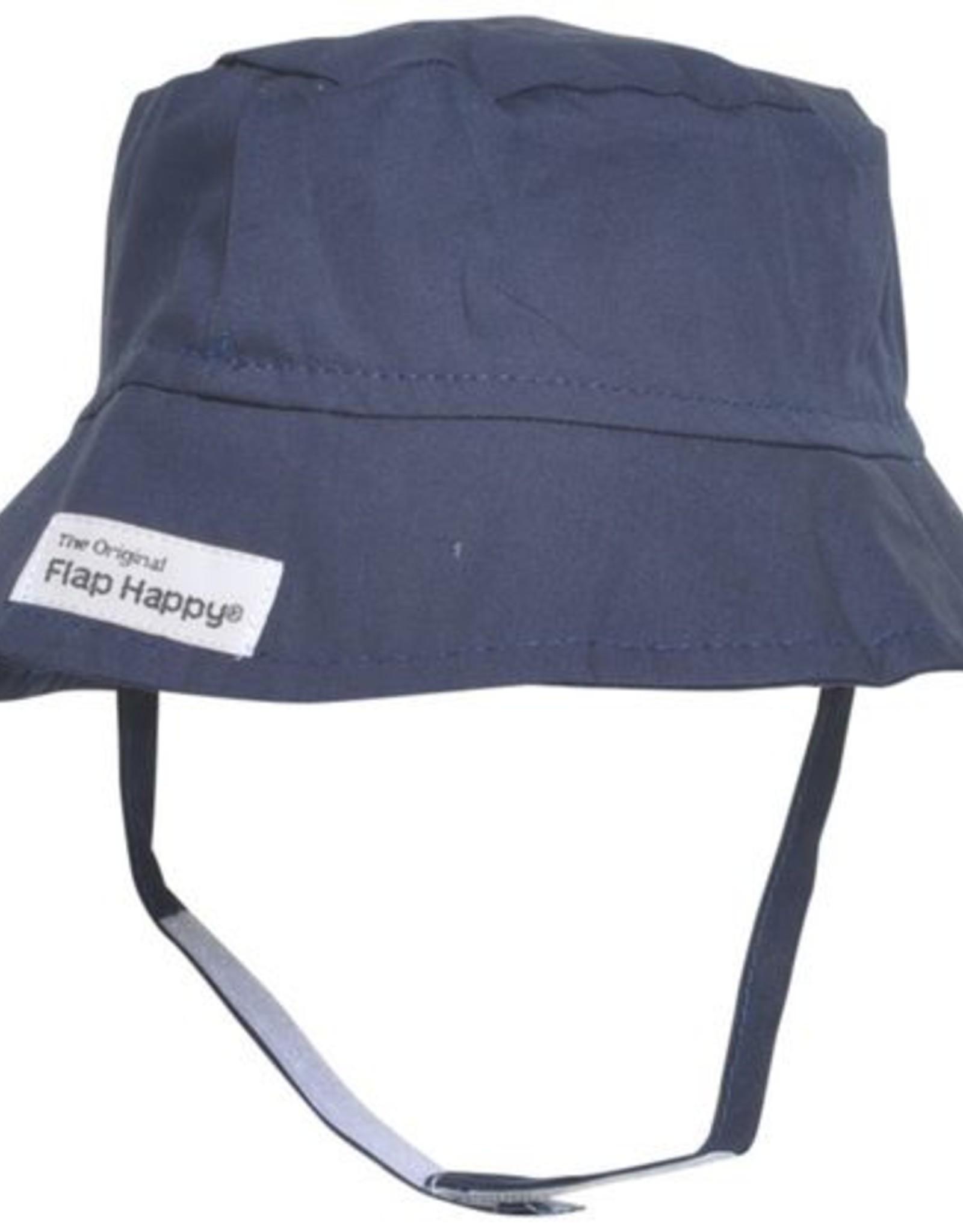 Flap Happy Bucket Hat Navy
