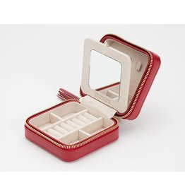 Wolf Caroline Zip Case Red