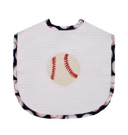 Three Marthas Bib Toddler Baseball