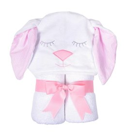 Three Marthas Character Towel Pink Bunny