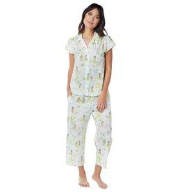 The Cat's Pajamas Capri Pajama Aloha