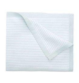 Elegant Baby Mini Stripe Blanket Blue