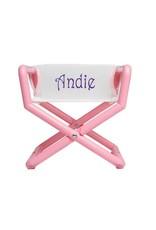 Hoohobbers Hoohobber Jr. Director Chair Pastel w/Mesh Seat