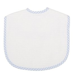 Three Marthas Bib Toddler Blue Stripe