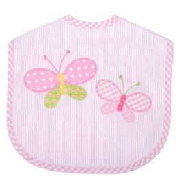 Three Marthas Bib Toddler Butterfly