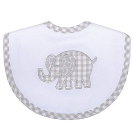 Three Marthas Basic Bib Grey Elephant
